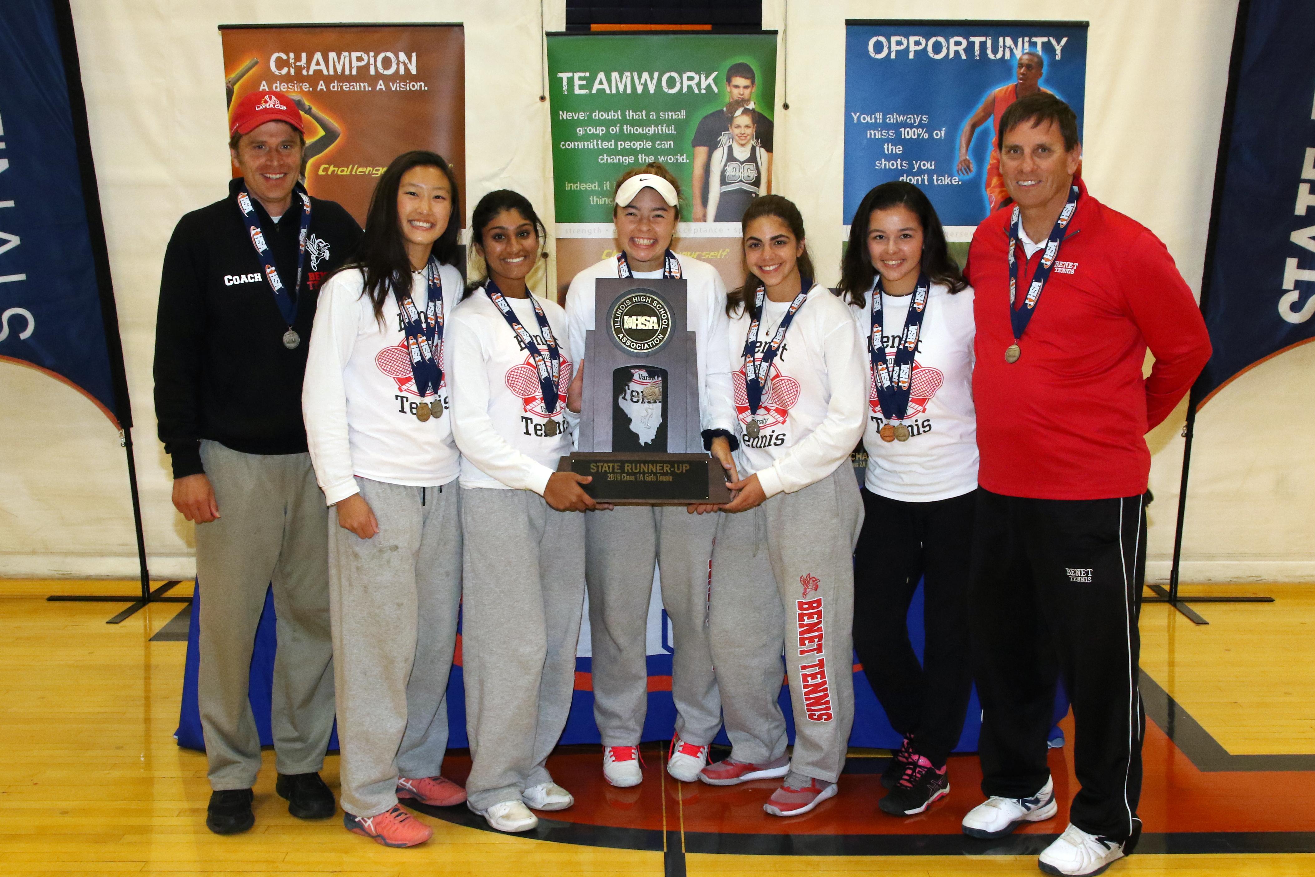 Girls Tennis Team Captures State Titles