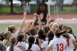 Girls Soccer Team Crowned State Champions!