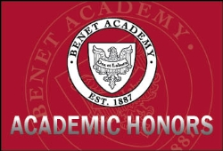 9 Benet Academy Students from the Class of 2020 Named National Merit Semifinalists