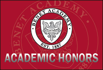 Benet Academy Announces First Semester Honor Roll